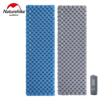 Naturehike NH19QD009 Lightweight Dual Air Valves Inflatable Camping Sleeping Pad Mat Mattress For Backpacking Hiking Travel