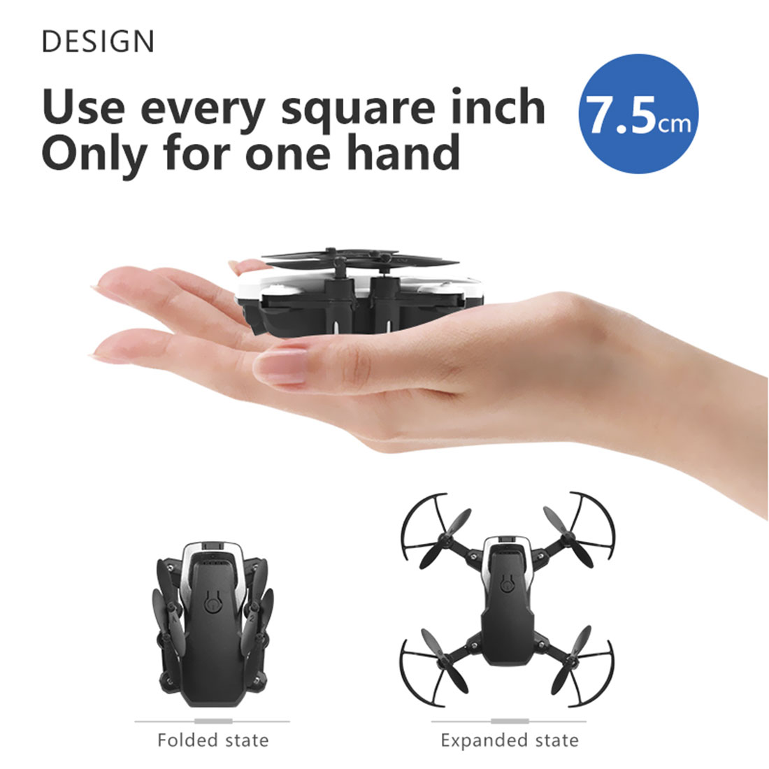 Mini Drohne HD Kamera 0.3MP 2.0MP 5.0MP 4K Hight Halten Modus RC Quadcopter RTF Luft Video WiFi FPV Faltbare hubschrauber 3D Flips