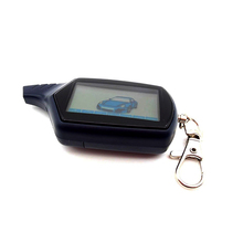 B9 ЖК-пульт дистанционного двухсторонняя Автомобильная сигнализация дистанционного управления треками