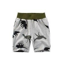 Pants Boys Shorts Dinosaur Knickers Baby-Boys-Girls Children Casual 7 8 Sport Cartoon