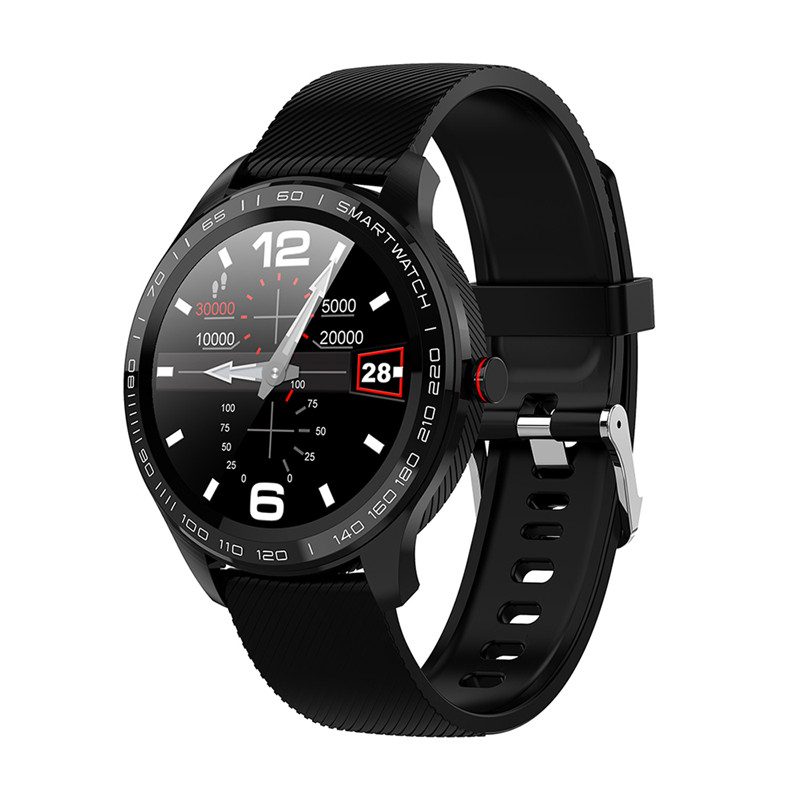 L9 Smart Watches ECG PPG Fitness Traker Information Push Phone Call Reminder Heart Rate Monitor Smartwatch For women men for IOS(China)