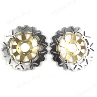 For Kawasaki ZXR 400 1989 1990 ZEPHYR 550 1993 2001 Front Brake Disc Disk Rotor Motorcycle Accessories ZRX400 ZEPHYR550 GOLD
