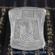 Al azar enviar 1 piezas china antigua coleccionables bar lingote de plata plata monedas decoración del hogar regalos artesanía d