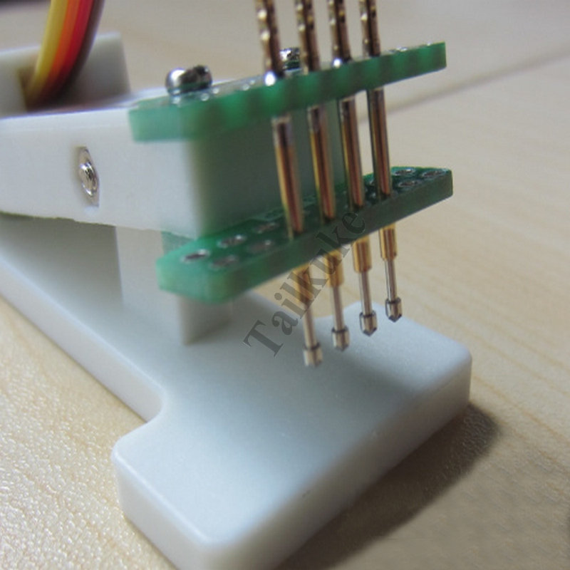 PCB Burning Clip 3.0mm Pitch Test Debugging Download 3-8P Single And Double Row 3P 4P 5P 6P 7P 8P