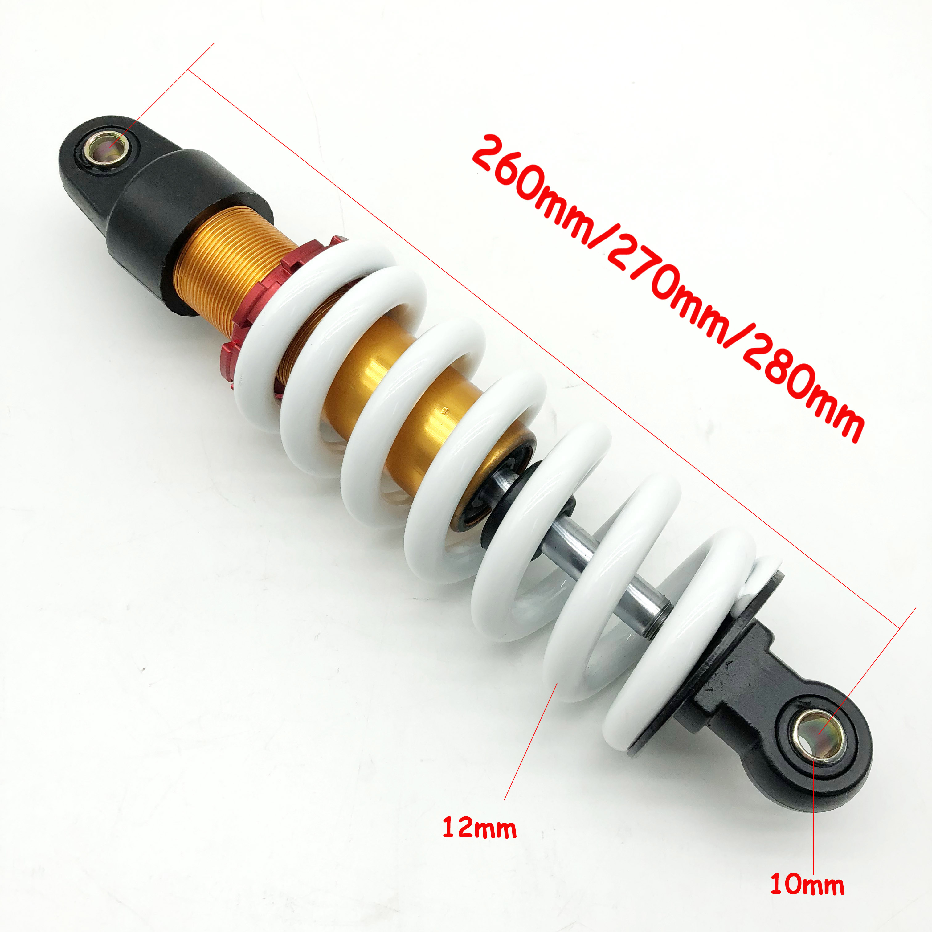 Motocycle Shock Damper Spring Rear Suspension fit for 70CC 90CC 110CC 125CC 140CC 200CC Dirt Pit Bike Shock Strut