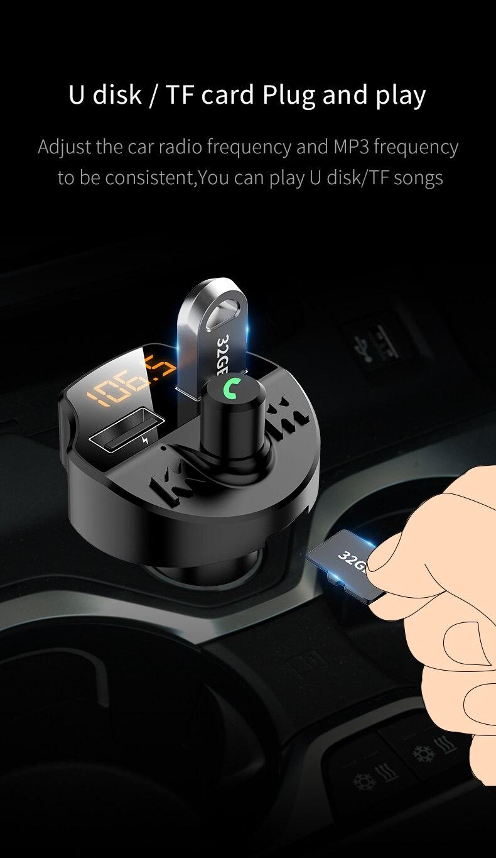 מתאם בלוטוס לרכב עם דיבורית