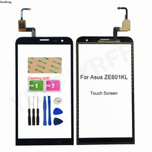 6inches Touch Screen For Asus Zenfone 2 Laser ZE601KL Touch Screen Digitizer Sensor Glass Panel Replacement Part