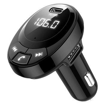 BT09 BT10 BT21 E5 T66 zestaw samochodowy odtwarzacz MP3 nadajnik FM Auto AUX bezprzewodowy samochód Modulator Radio USB ładowarka samochodowa pilot tanie i dobre opinie Fanxoo CN (pochodzenie) Plastic 80gg Bluetooth Car Kit