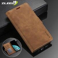 Custodia Flip in pelle per Samsung Galaxy S21 S20 FE S10E Lite S9 S8 Plus S7 S6 Edge J6 Prime J4 J3 2018 J330 J530 J730 Cover per telefono