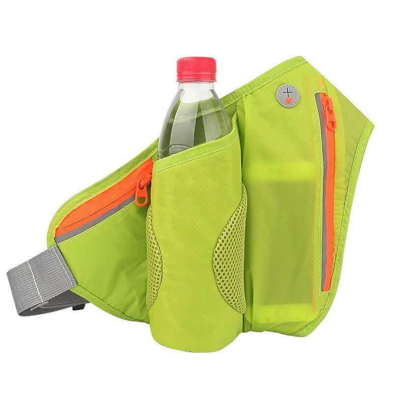 Running Belt Hydration Waist Pack With Water Bottle Holder For Men Women Waist Pouch Fanny Bag Reflective Fits 4-6 Inch Mobile P