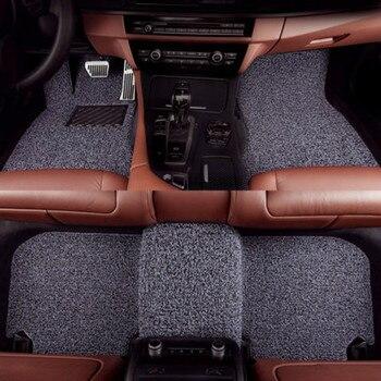 Wire Loop Carpets Waterproof Durable Custom Car Floor Mats for BMW 6/7 SERIES 730li 740li 750li 760li 530li 540li