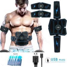 Стимулятор мышц живота, тренажер, EMS, оборудование для фитнеса, оборудование для тренировки мышц, электростимулятор, тонер для упражнений дома, тренажерного зала