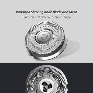 Image 5 - SOOCAS SO WHITE elektryczna maszynka do golenia brody dla mężczyzn suche golenie na mokro tryb Comfy Clean Manual maszynki do golenia ES03