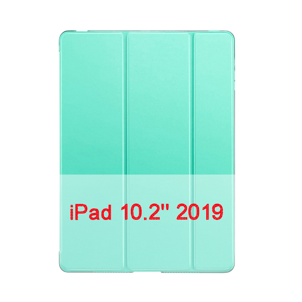 Mint Blue QIJUN Case For Apple iPad 10 2 2019 iPad 7 7th Generation A2200 A2198 A2232 A2197