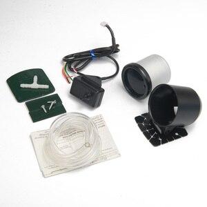"""Image 5 - Светодиодный турбонаддув для автомобиля, 2 """"52 мм, 7 цветов, с датчиком и держателем, светодиодный, для автомобиля"""