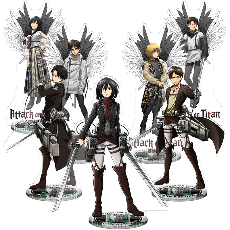 Anime Attack On Titan Eren Jaeger PVC Action Figure Show case Display Toy Coplay