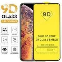 9D Gehärtetem Glas Für iPhone 11 12 Mini Pro Max Screen Protector Für iPhone X Xr Xs Max 6 6S 6P 7 8 Plus SE2020 Volle Abdeckung Glas