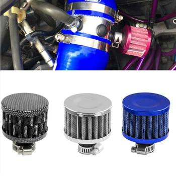 12mm Motorcycle Car Cone Cold Air Intake Filter Turbo Vent Crankcase Breather image