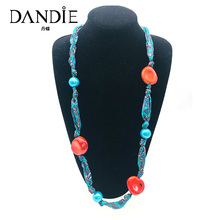 Dandie New Hand-Made Multi-Color Bead Long Necklace A Variety Of Optional Fashion Necklaces Simple Accessories Gifts For Women dandie glass beads and metal multi layer necklace fashion modeling accessories simple and elegant jewelry gifts for women