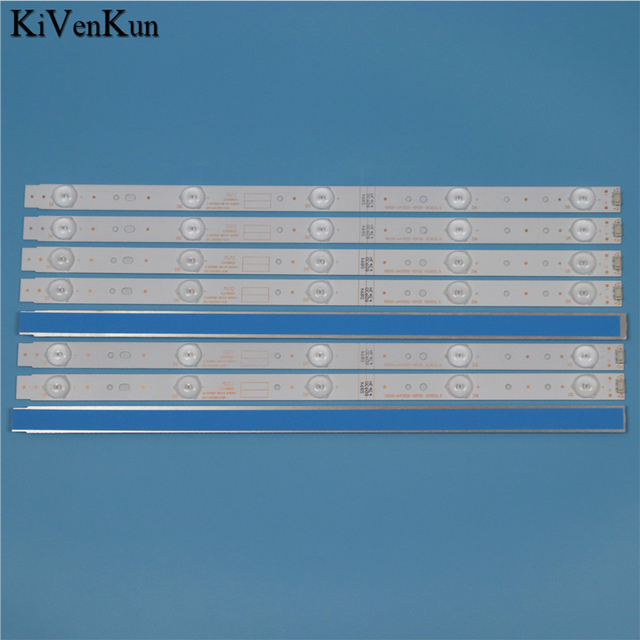 TV 램프 LED 백라이트 스트립 Telefunken TF LED43S27T2 바 라인 키트 LED 밴드 어레이 5800 W43001 5P00 VER02.00 5800 W43001 3P00