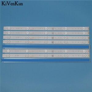 Image 1 - TV Lamp LED Backlight Strips For Telefunken TF LED43S27T2 Bar line Kit LED Band Array 5800 W43001 5P00 VER02.00 5800 W43001 3P00