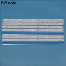 Tiras de retroiluminación LED para lámpara de TV, Kit de línea de barra de TF LED43S27T2 Telefunken, banda de matriz LED 5800 W43001 5P00 VER02.00 5800 W43001 3P00