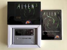 16bit jogos ** alien 3 (versão francesa pal! Caixa + manual + cartucho!)