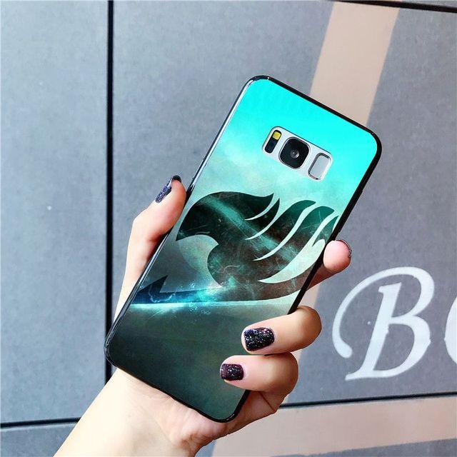 Fairy Tail Case for Samsung Galaxy S10 Plus S10E S6 S7 S8 S9 Plus S10lite
