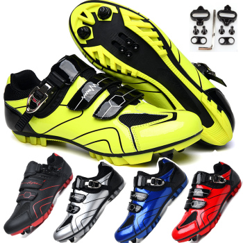 professional quality Cycling Bike Shoes non-slip wear outdoor Athletic bicycle shoes comfortable MTB Bike lock shoes