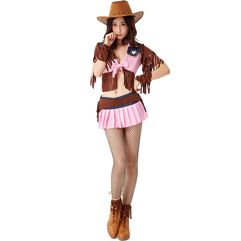Karnival Rodeo// Cowgirl Ladies Costume