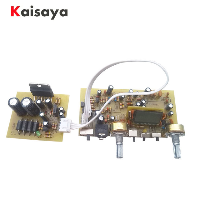 Stereo FM Radio Board Digital Frequency Modulation Radio Board Serial Port DIY FM Radio TEA5711 G10 012