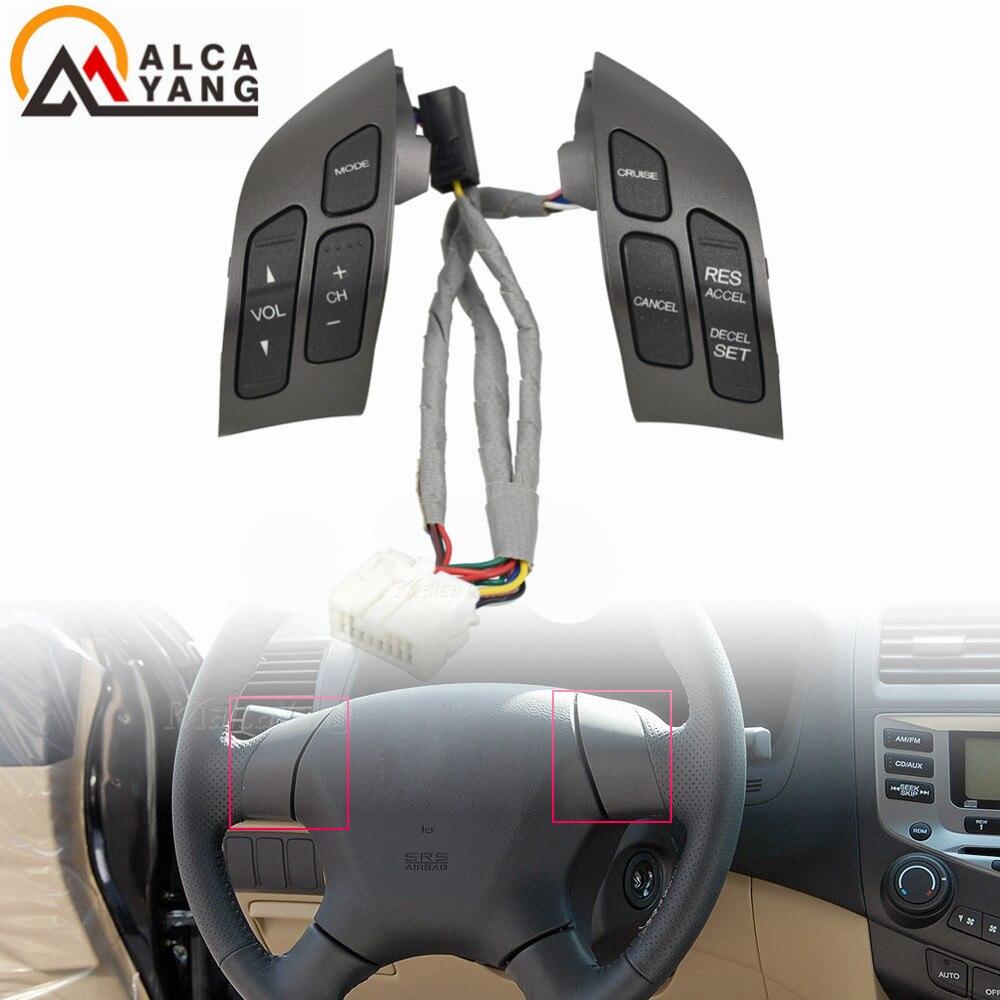 Malcayang 35880SDBA01ZA рулевое колесо аудио переключатель управления для Honda Accord 2003-2007