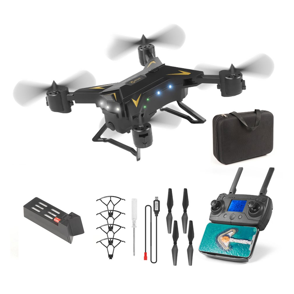 KY601G 5G WiFi <font><b>Drone</b></font> Remote Control <font><b>FPV</b></font> <font><b>Drone</b></font> 4-Axis GPS Aerial Toy Foldable Aircraft Gesture Photo Video RC Helicopter image