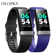 цена на V9 ECG+PPG Smart Band Blood Pressure Heart Rate Monitor Smartband Fitness Tracker Watch Pedometer Smart Bracelet For IOS Android