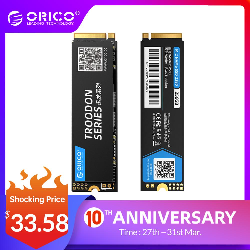 ORICO SSD 128GB 256GB 512GB 1TB M.2 NVME SSD M2 Hard Disk SSD 1tb PCIe SSD NVME SSD M.2 2280 Mm Internal Solid State Disks 2280