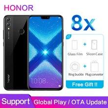 Honor 8X Global ROM Support Google store OTA Update 4GB 64GB 6.5 inch Screen 20MP Dual Cameras Octa