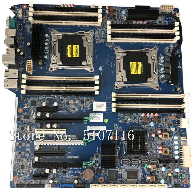 High quality desktop motherboard for Z840 <font><b>X99</b></font> 761510-001/601 710327-002 will test before shipping image