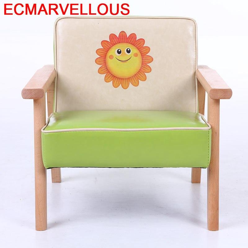 Couch Seat Bimbi Silla Princesa Cameretta Bambini Small Kids Bed Canape Baby Chambre Enfant Infantil Children Children's Sofa