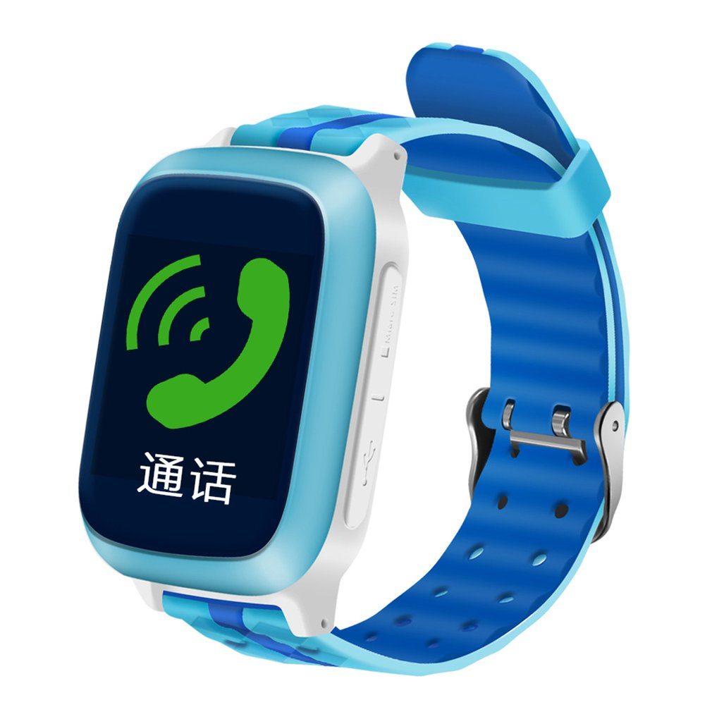 Christmas Gifts DS18 Children Smart Watch Waterproof GPS WIFI Locator Tracker Remote Monitoring Smart Devices 1.44 Inch Screen