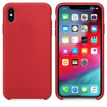 Oficial Original Casos de Silicone Para Apple iphone X Xs MAX XR caso iphone 11 Pro caso para Apple iphone 7 7 além de 8 8 Mais caso