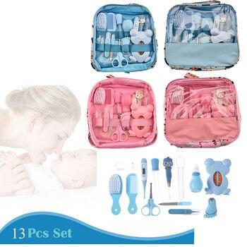 Juego de manicura multifuncional para uñas de bebé, 13 Uds./Kit Higiene Bebe...