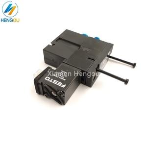 Image 1 - 1 Piece new solenoid valve FESTO MEBH 4/2 QS 4 SA M2.184.1111/05 for offset SM102 CD102 SM52 PM52 machine