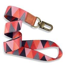 Популярный брелок с ремешками из веревки, мобильный телефон шарм шейный ремешок для ID-Карты keycord «сделай сам»; Шнурки веревка новый шаблон 485...