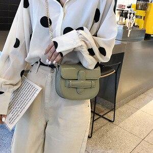 Image 1 - JIULIN 2019 新しい潮クロスベルト夏チェーンシングルショルダーバッグファッション傾斜小さな正方形のバッグ