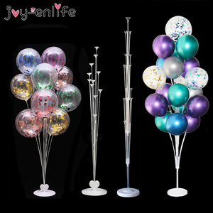11tube Balloons Stand Balloon Holder Column Wedding Party Decoration Baloon Kids Birthday Party Balons Baby Shower Supplies(China)