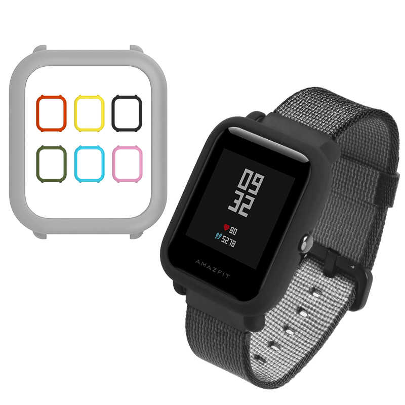 SIKAI Case for Xiaomi Amazfit Bip Colorful Replaced Hard Cover Protective Shell for Midong Amazfit Bip Smart Watch Pace