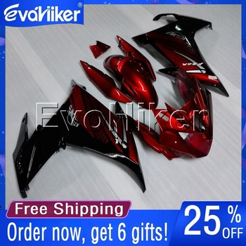 Custom motorcycle fairing for FZ6 FZ6R 2009-2010 motorcycle bodywork kit red+gifts