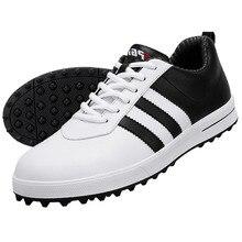 Профессиональные кроссовки; PGM обувь для гольфа; мужские водонепроницаемые дышащие нескользящие спортивные кроссовки; обувь для гольфа; schoenen heren golf chaussure