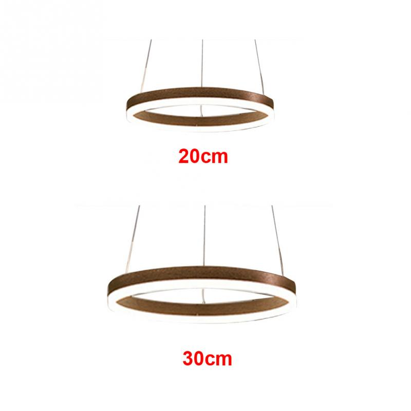 Chandelier Dimming Ceiling Light Bedroom Study Remote Control Modern Led Decorative Living Room Hanging Lamp Pendant Acrylic