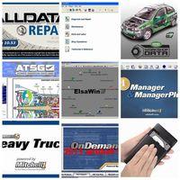 49 in 1tb HDD USB3.0 Software Vivid Workshop data Alldata 10.53 Mitchell ondemand 2015V ElsaWin ATSG alldata mitchell Software